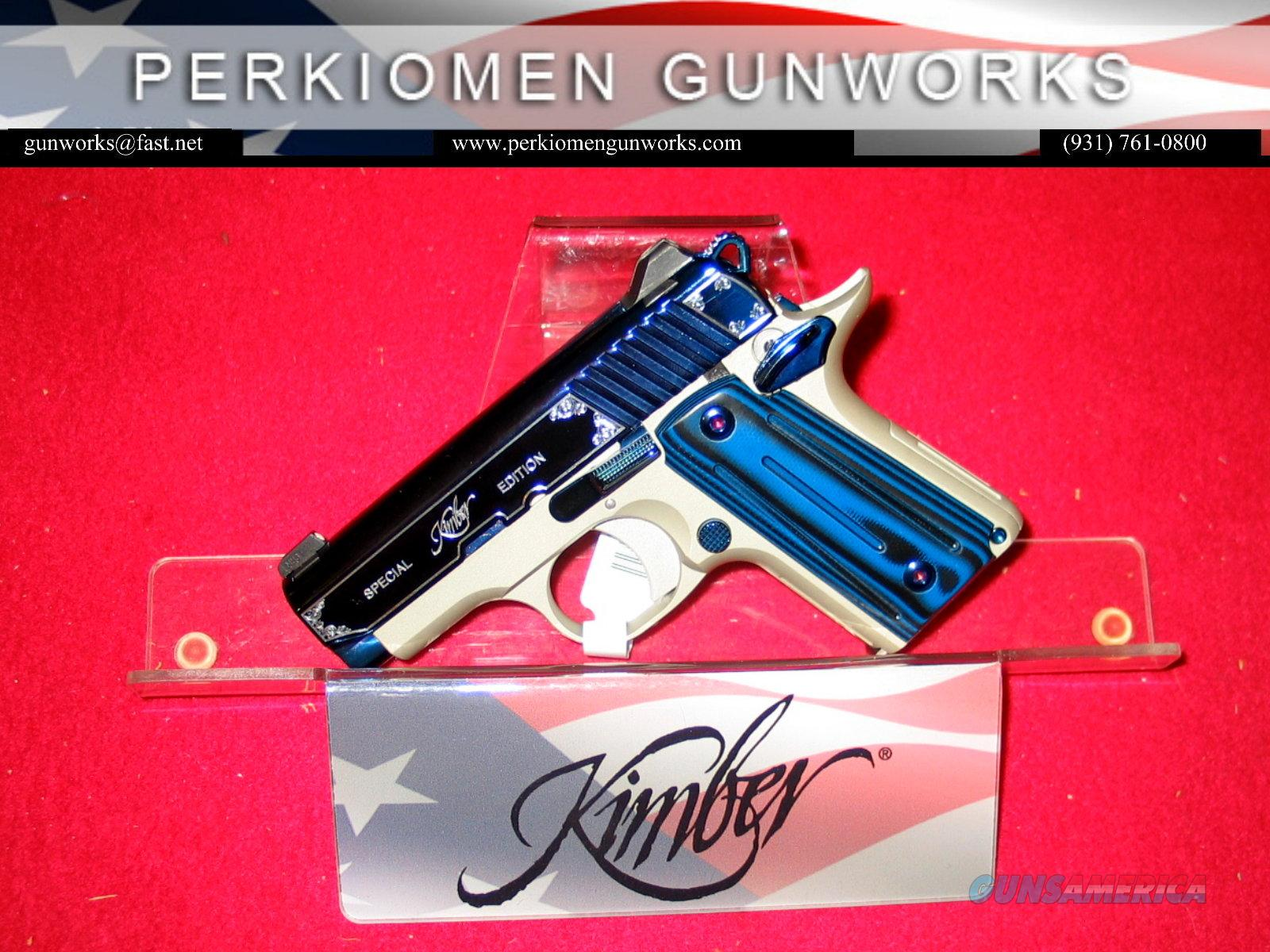 Micro Sapphire 380acp New In Box W Holster A For Sale