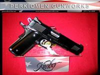 "Gold Combat II Limited Edition .45acp, 5"", Black Mirror Finish - New in Box"