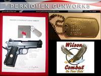 Bill Wilson Carry, .45acp, Armor-Tuff, w/Options - New in Case