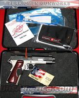 "Custom Crimson Carry, 45acp, 5"" w/Laser grips - New in Box"