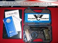 Beretta/Wilson Combat 92G BRIGADIER TACTICAL 9mm w/Action Tune option-NIB