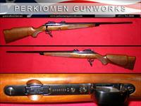 52 Sporter .22LR Bolt Action, 1991 gun.