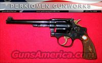 "K-22 Outdoorsman 1st Model, 6"", .22LR - NICE!"