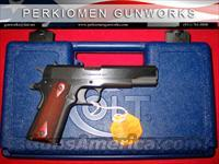 "Govt. Model .38 Super, 5"", Blue, New in Box"