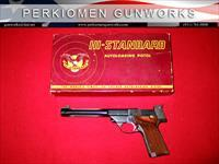 Supermatic Trophy Model 107 Military .22LR w/box