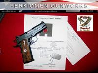 "Tactical Supergrade Professional .45acp, 4"" w/Options - Super Nice"