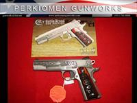 "Government 1911 9MM, 5"", SS, LAST COWBOY, 1 of 300, New in Box"