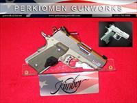 Stainless Ultra TLE (LG), 45acp, 3' w/Laser grips & Night Sights - New in Box