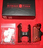 Kimber Solo Carry Crimson Strace Rosewood Laser Grips