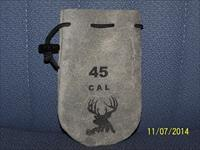 45 cal RB ullets with leather bag