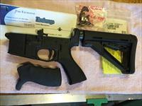 Bushmaster factory-built carbine lower complete w/extras