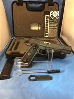 "Taurus PT1911 Semi-automatic 1911 Full 45 ACP 5"" Steel Blue Rubber 8Rd 2 Mags Right Hand Novak 1-191101"