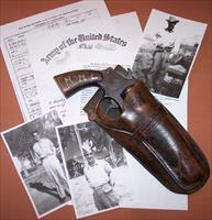 "Lend-lease Victory Model Smith & Wesson .38 S&W, 5"" Barrel, Documented WWII Provenance"