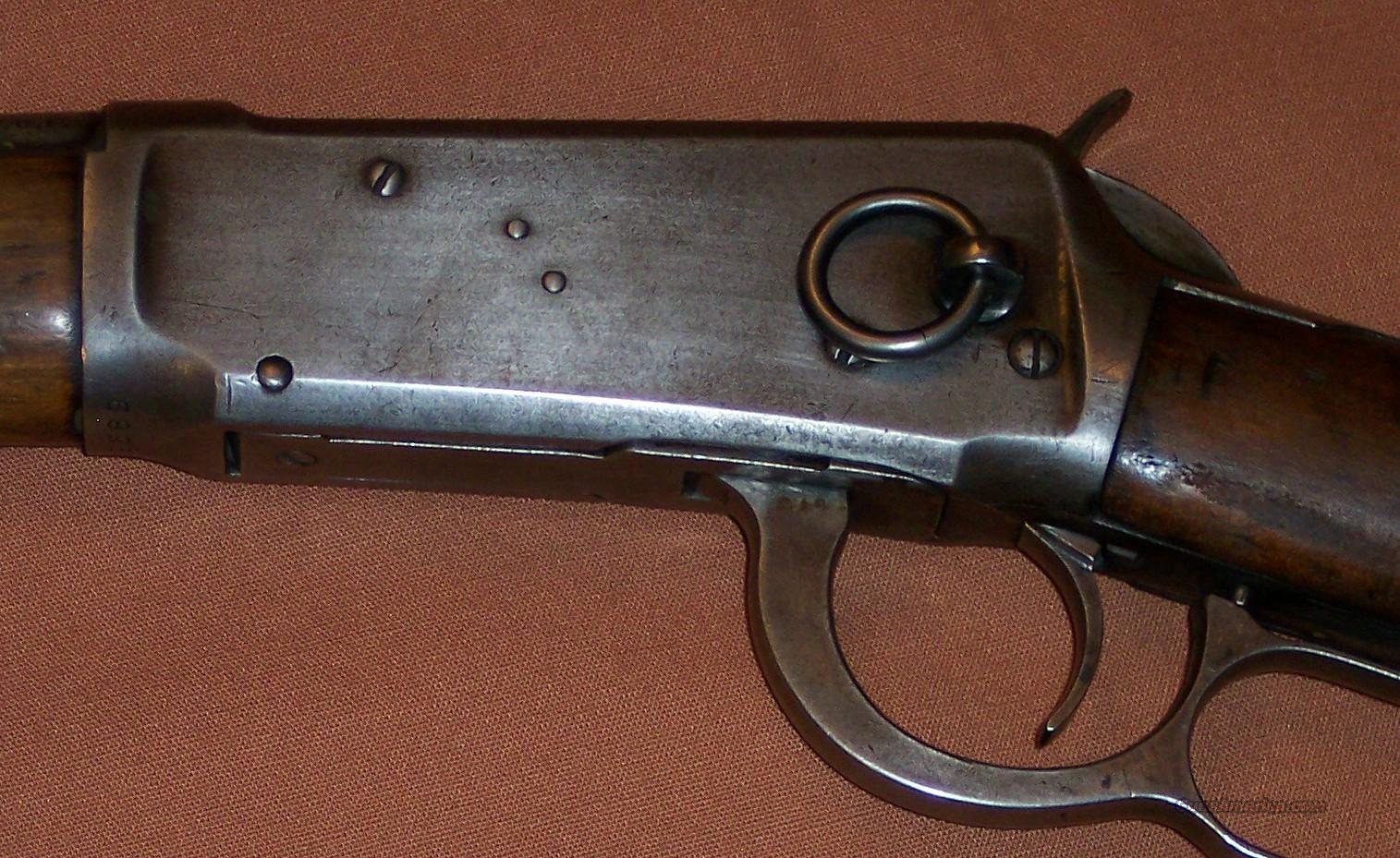 Winchester 1894 Saddle Ring Carbine  30 WCF c  1908