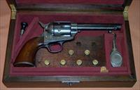 "Cased London Colt in .45 Eley, 5.5"" Barrel, c. 1881"