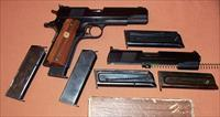 Colt Government 1911 Gold Cup National Match .45 with Colt Ace .22 Conversion Kit c. 1969