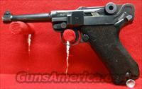 1937 S/42 NAZI GERMAN LUGER