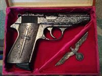 Walther PP silver nazi German commemorative .380