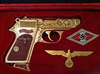 Walther .22 PPK/s engraved German rare third reich nazi