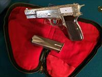 BROWNING HI-POWER RENAISSANCE, BELGIUM MADE 9MM