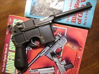 Late Transitional Large Ring Hammer Mauser Broomhandle C96 pistol with matching Stock