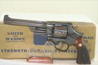 S&W Model 38/44 Outdoorsman Post-War Transitional. 38 Spl