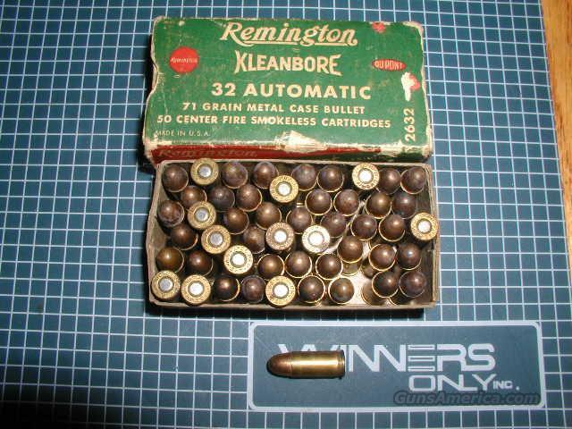 REMINGTON KLEANBORE 32 AUTO