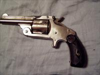 S&W 38 SA revolver for sale chambered in 38 S&W.