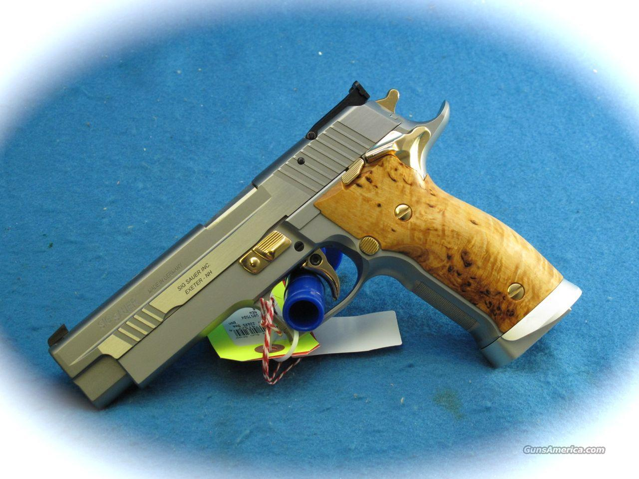 Sig Sauer P-226 X5 Scandic Gold Dragon 9mm Pistol **NEW**