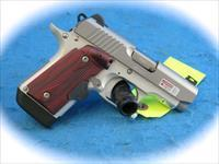 Kimber Micro 9 Stainless Rosewood 9mm Pistol with Laser Grip **New**