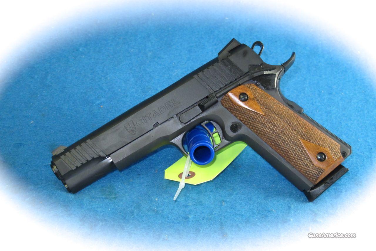 citadel 1911 45acp full size pistol new for sale. Black Bedroom Furniture Sets. Home Design Ideas