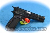 Browning Hi-Power 9mm Semi Auto Pistol **New**