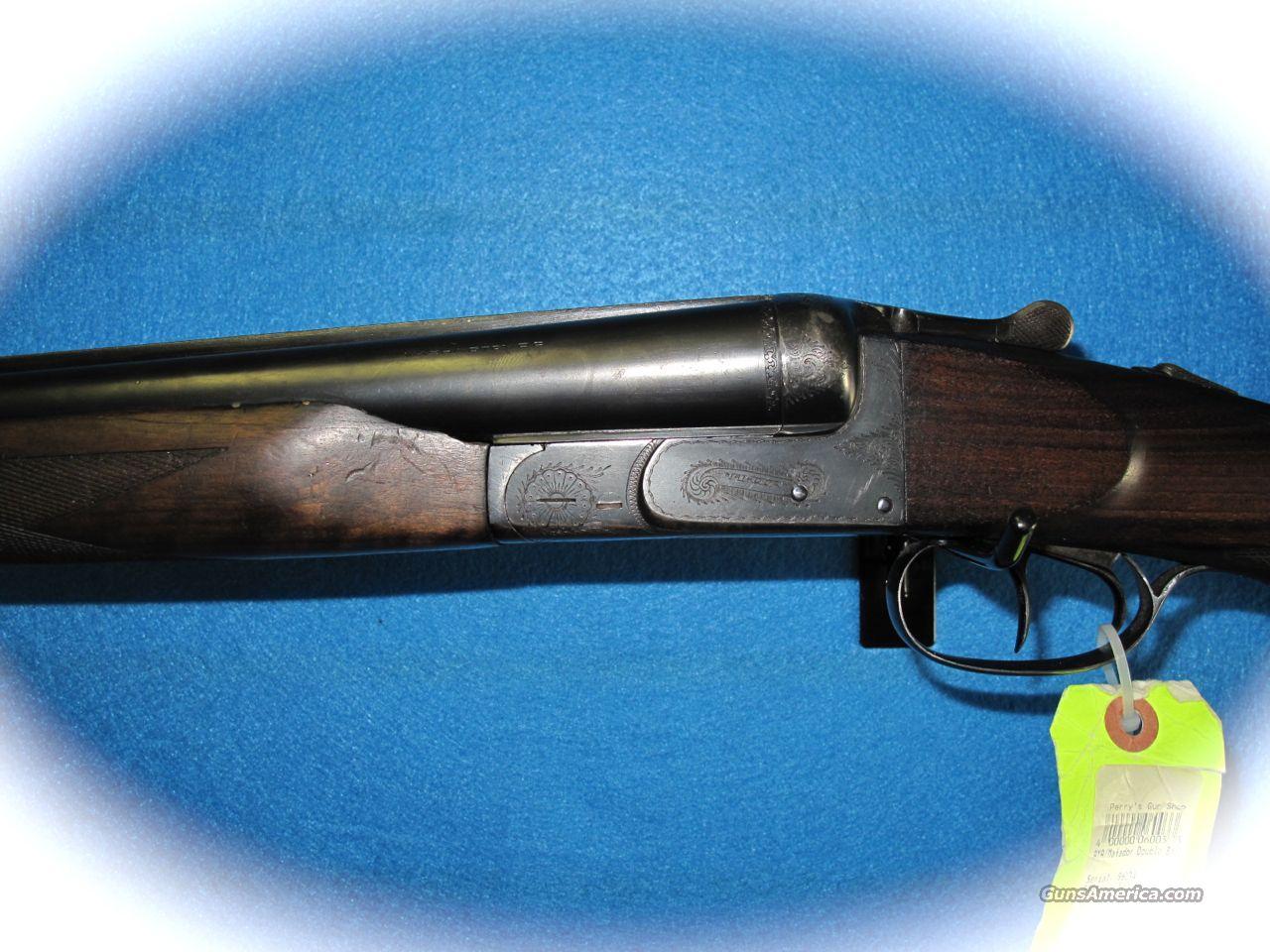Aya matador 10 gauge double barrel sxs shotgun used