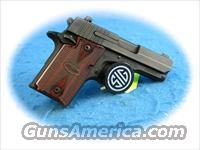 Sig Sauer P938 Rosewood 9mm Pistol **New**