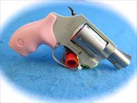 Smith & Wesson Model 637 .38 Spl +P Airweight Revolver W/Pink Grips **New**