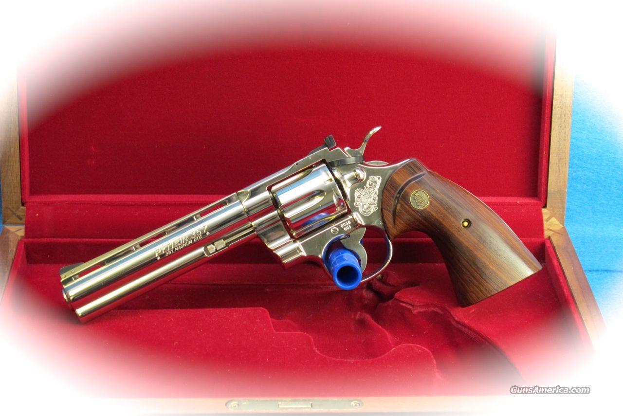 Colt Python  357 Mag Nickel Revolver