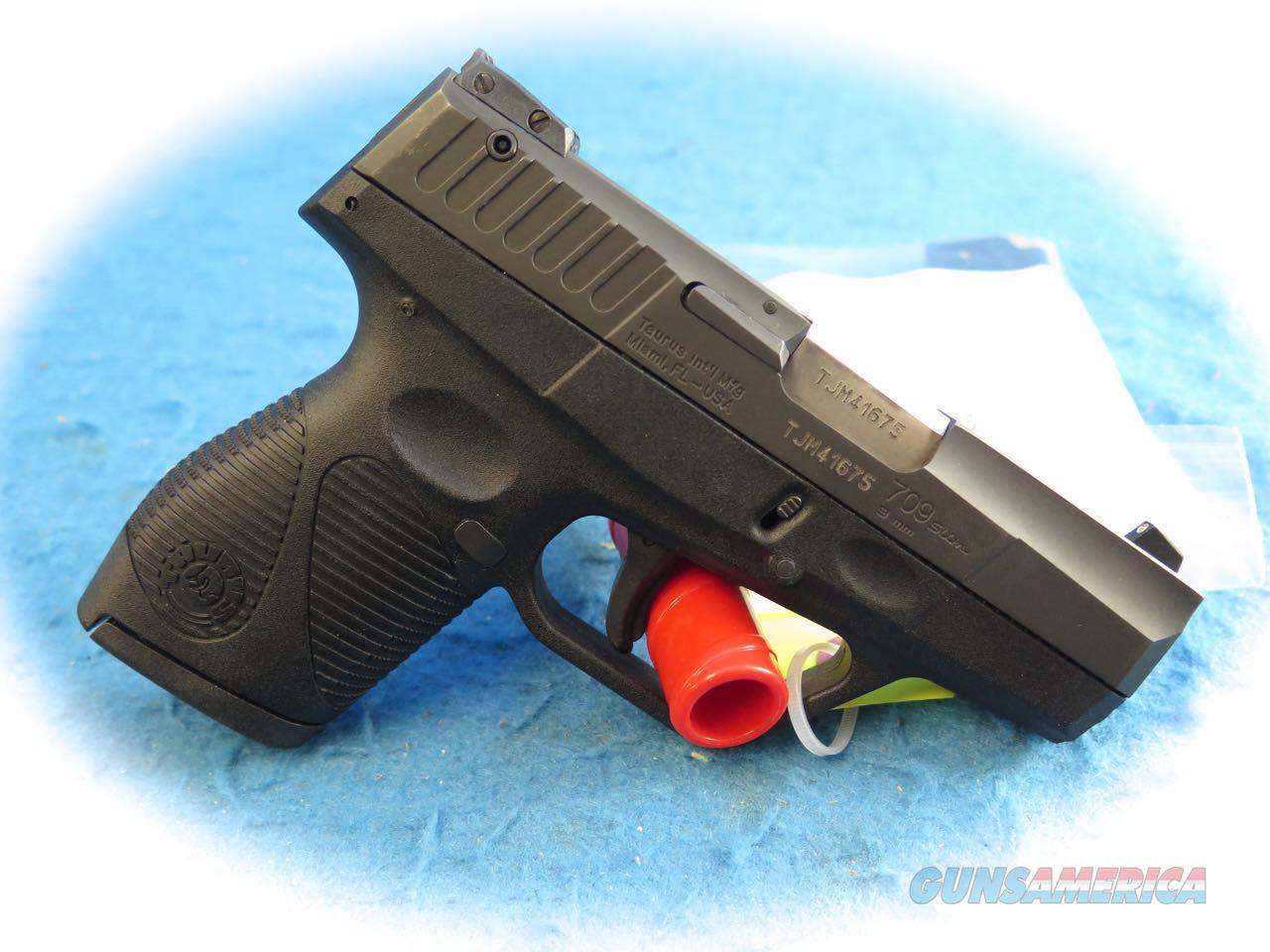709 slim 9mm pistol - Taurus Model 709 Slim 9mm Semi Auto Pistol Used Guns Pistols