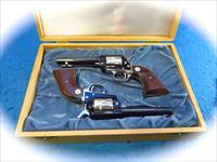 "Colt Frontier Scout Pair .22LR Revolvers Marked""Wyoming Diamond Jubliee 1965"" **Used**"