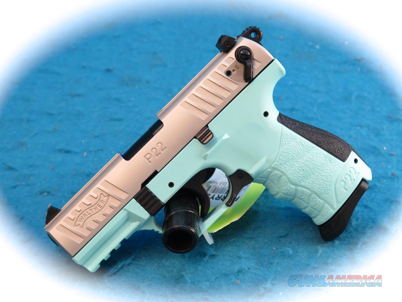 Liberty Auto Sales >> Walther P22 Angel Blue .22LR Semi Auto Pistol S... for sale