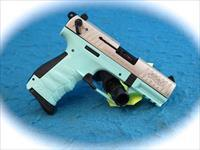 Walther P22 Angel Blue .22LR Semi Auto Pistol SKU 21106 **New**