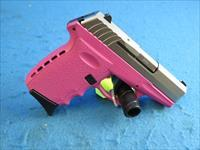 SCCY Model CPX-2 TTPK 9mm Pistol Pink/Stainless **New**