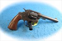 Colt Model 1909  U. S. Army .45 Colt Revolver US Property Marked **Used**