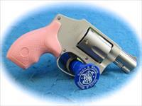 Smith & Wesson Model 642 .38 Spl +P Revolver with Pink Grips **New**