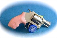 Smith & Wesson Model 637 .38 Spl +P Revolver Pink Grips **New** ON SALE