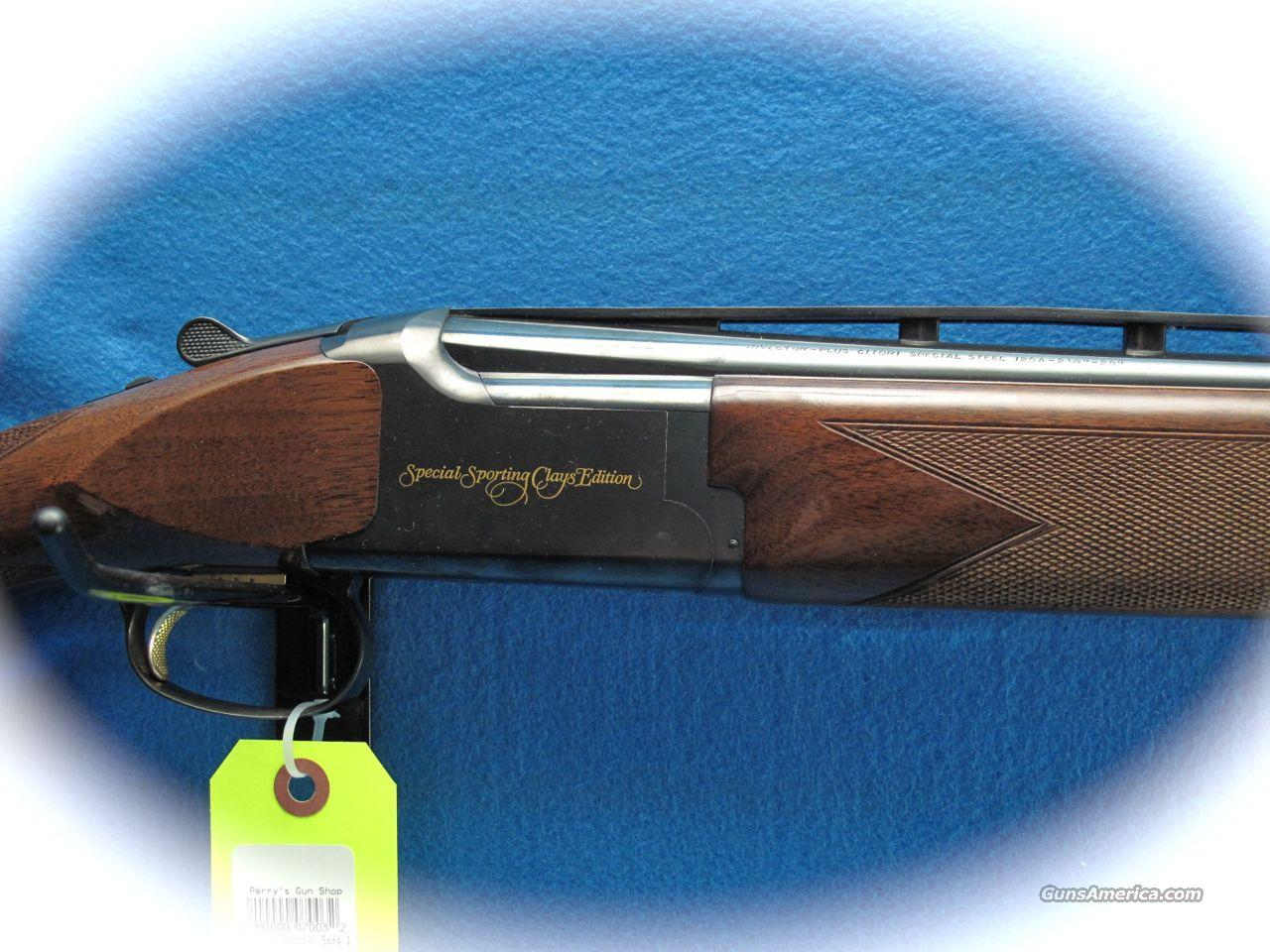Browning citori special sporting clays edition 12 ga over under