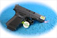 Glock Model 19 Gen 4 9mm Pistol W/Lasermax Red Guiderod Laser **New**