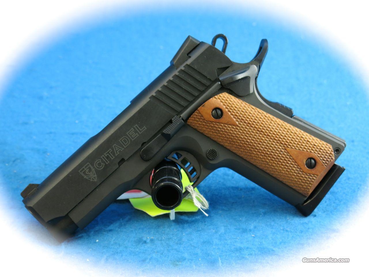 citadel 1911 compact 45 acp pistol new on for sale. Black Bedroom Furniture Sets. Home Design Ideas