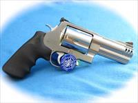 Smith & Wesson 500 Magnum SS Revolver 4 Inch BBL **Used**