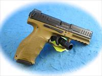 Heckler & Koch Model VP40 .40 S&W Pistol FDE **New**