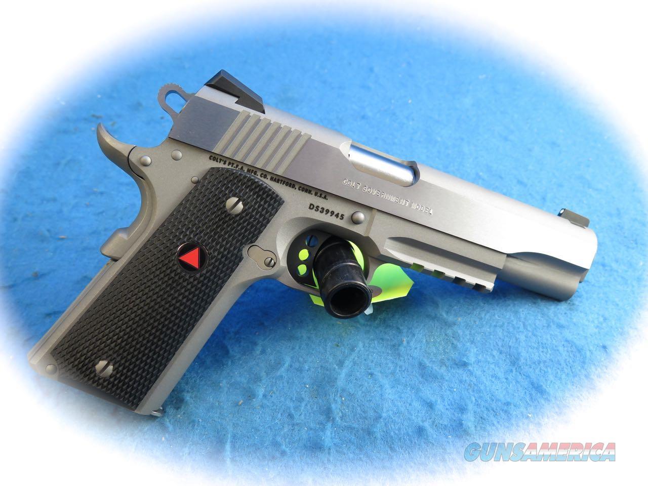 Colt Delta Elite Rail Gun 10MM SS Pistol **New**
